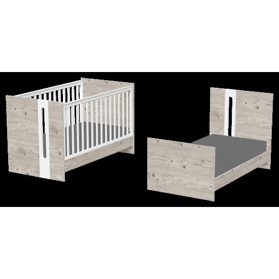 Casababy Hugo βρεφικό κρεβάτι μετατρεπόμενο σε προεφηβικό