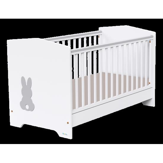 Casababy Rabbit βρεφικό κρεβάτι μετατρεπόμενο σε προεφηβικό