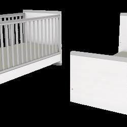 Casababy Smart Βρεφικό Κρεβάτι Μετατρεπόμενο Σε Προεφηβικό