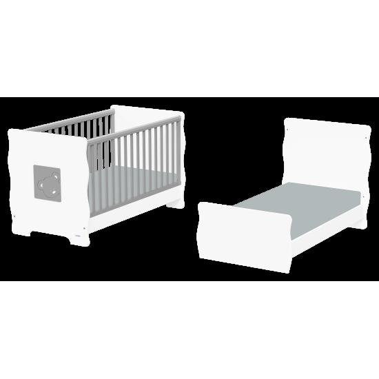 Casababy Winnie βρεφικό κρεβάτι μετατρεπόμενο σε προεφηβικό