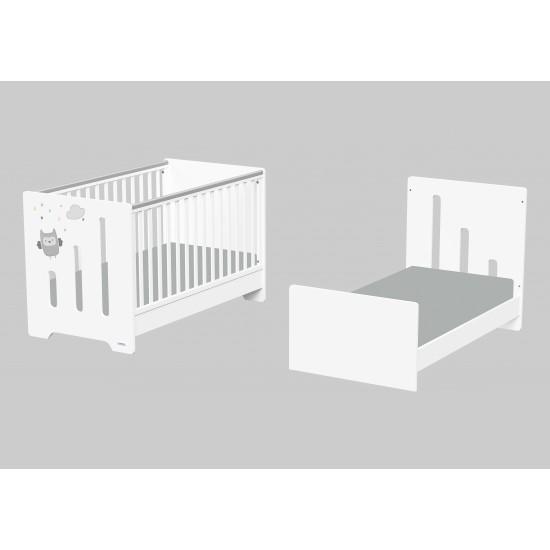 Casababy Ziggy Βρεφικό Κρεβάτι Μετατρεπόμενο