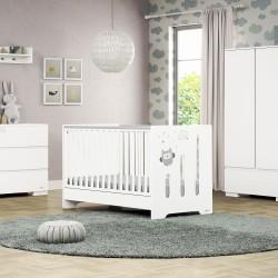 Casababy Ziggy Βρεφικό Κρεβάτι Μετατρεπόμενο Σε Προεφηβικό