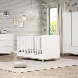 Casababy Zoom Βρεφικό Κρεβάτι Μετατρεπόμενο Σε Προεφηβικό