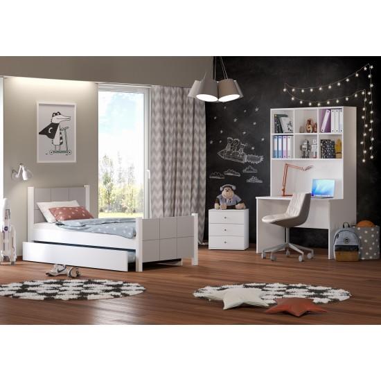 Casakids Cosy Κρεβάτι Μονό 100x204 cm ή 100x214 cm