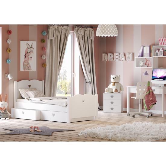 Casakids Feel Κρεβάτι Μονό 100x204 cm ή 100x214 cm
