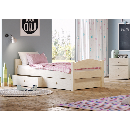 Casakids Loft Κρεβάτι Μονό 100x204 ή 100x214 cm