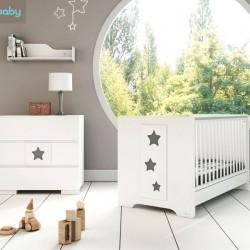 Casababy Stars Βρεφικό Μετατρεπόμενο Σε Προεφηβικό Κρεβάτι