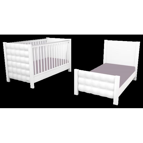 Casababy Eden Βρεφικό Κρεβάτι Μετατρεπόμενο Σε Προεφηβικό